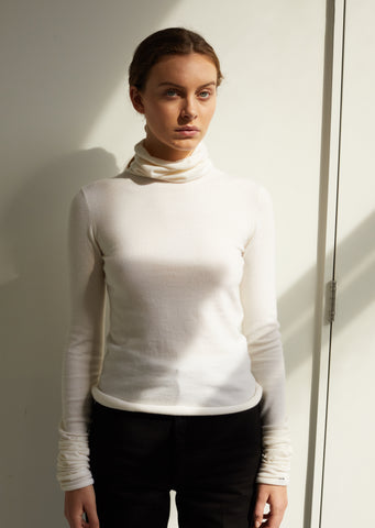 Cashmere Under Turtleneck