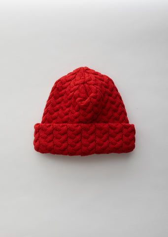 Cable-knit Chunky Watch Cap