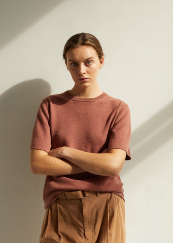 Cashmere Terra T Shirt Sweater