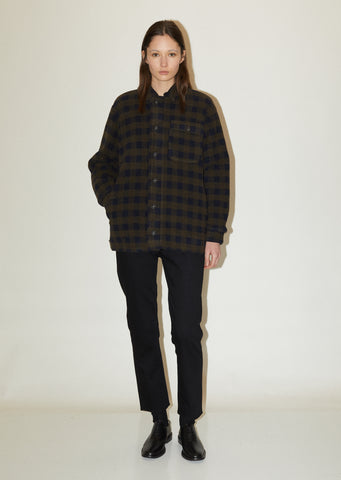 Courmayeu Wool Check Jacket