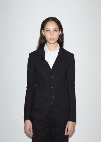 U-Shirt Collar Jacket