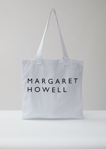 White Logo Bag