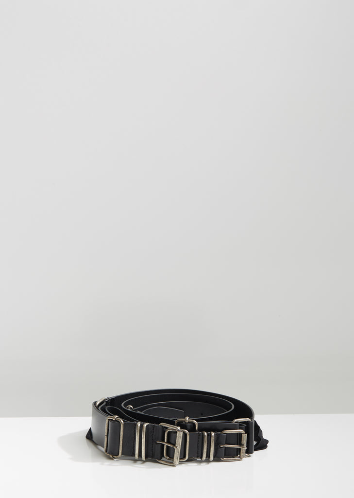 Kenya Triple Leather Belt
