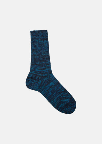 Indigo Cotton Mix Color Socks
