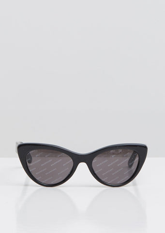 Logomania Cat Eye Sunglasses