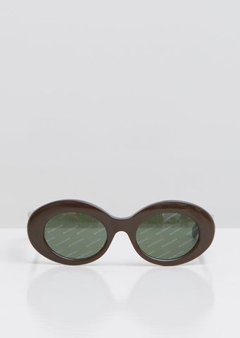 Logomania Round Sunglasses