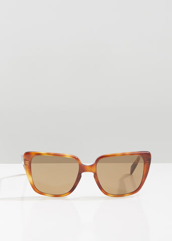 Oversized Rectangular Sunglasses