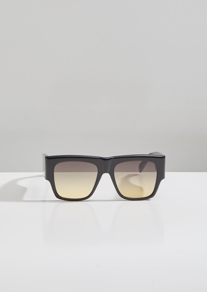 Square Acetate Gradient Sunglasses