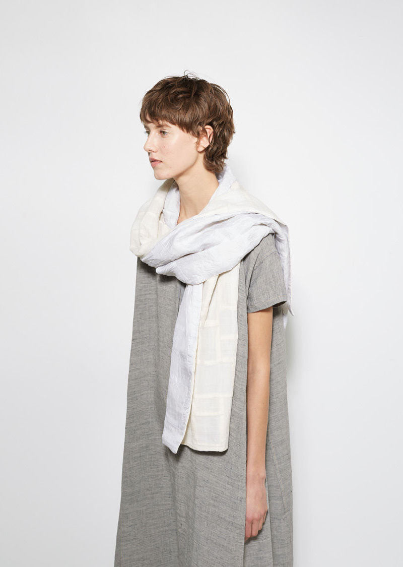 Pojagi Cotton & Silk Patchwork Scarf