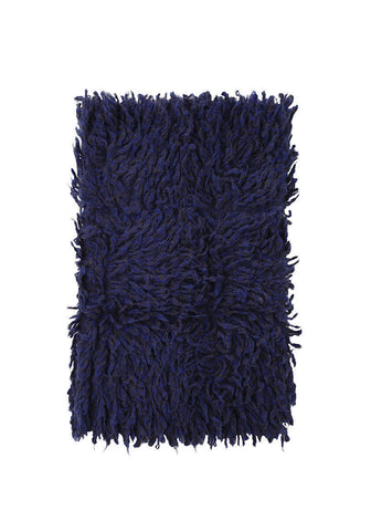 Infinity Hairy Knit Scarf