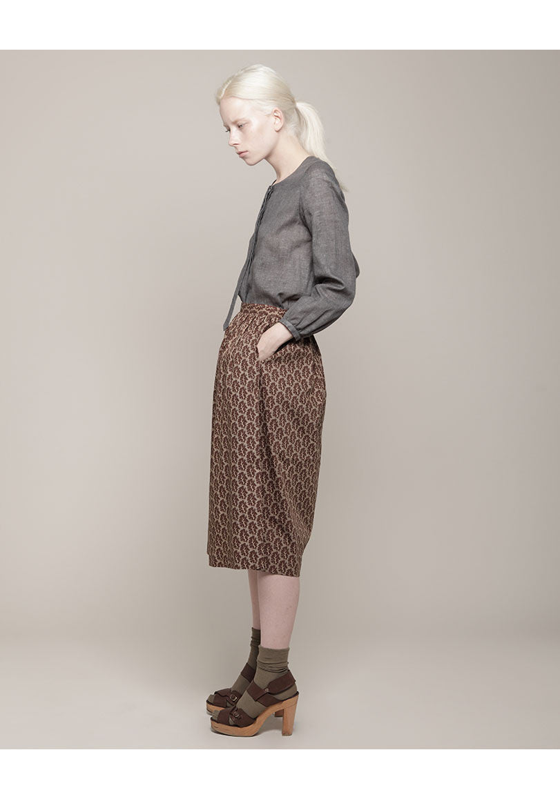 Skylar Oak Print Skirt