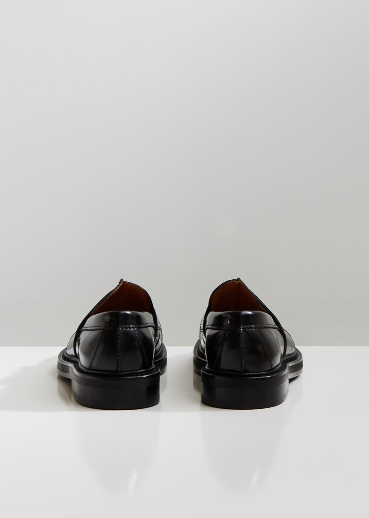 Lock and Key Leather Loafer