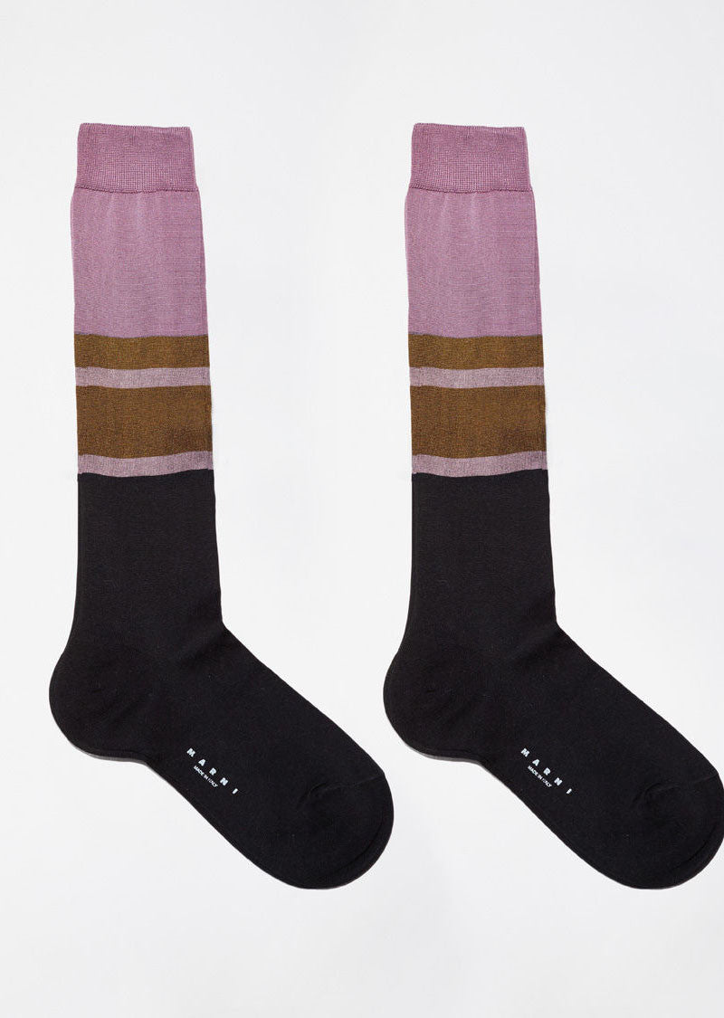 Color Blocked Socks