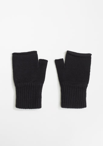 Rolled Edge Fingerless Glove