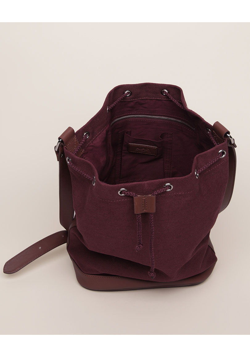 Canvas Bucket Bag