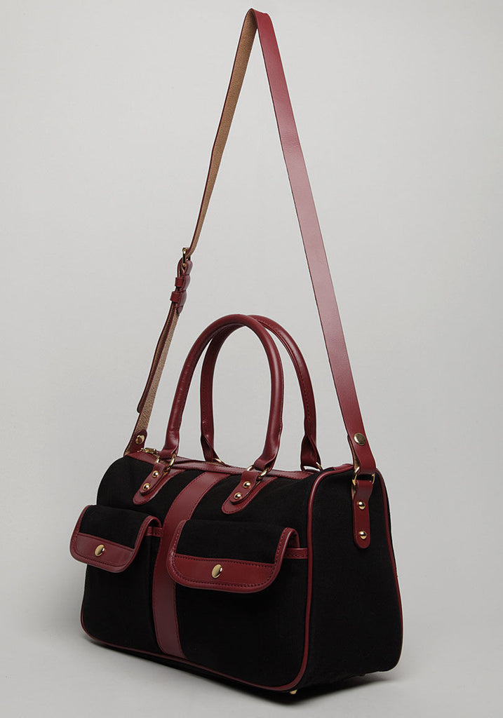 Canvas & Leather Bag