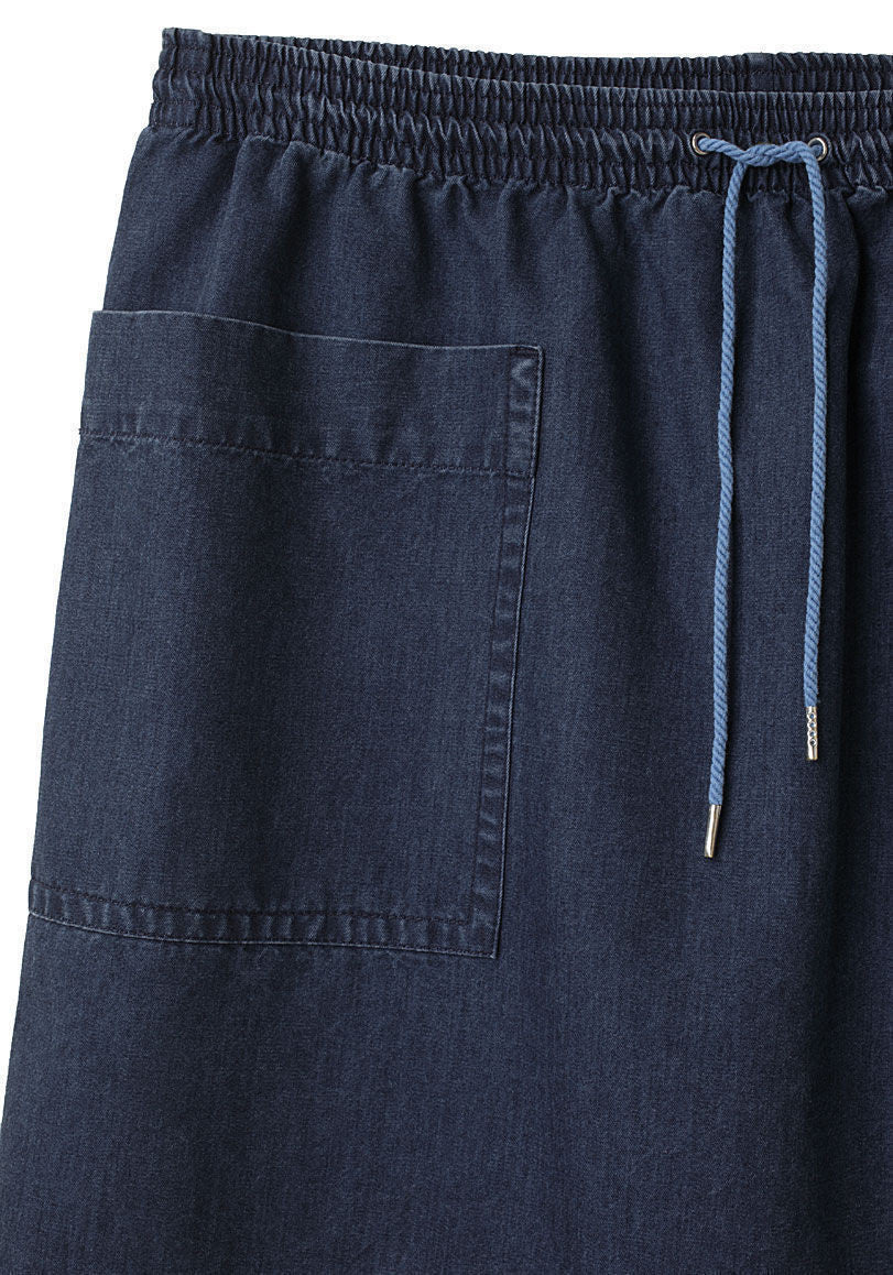 Drawstring Pocket Skirt