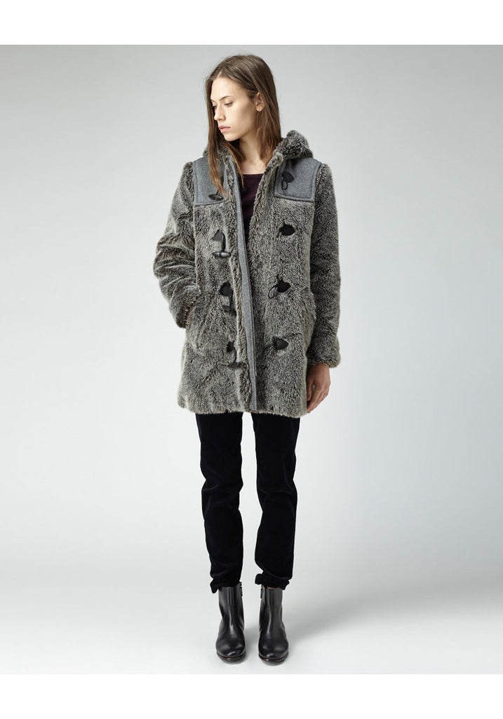 Fur Duffel Coat