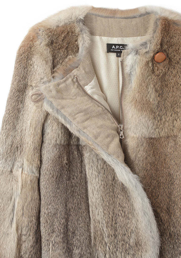 Rabbit Fur Coat