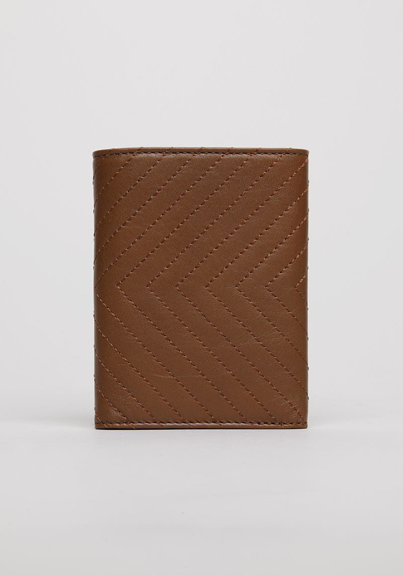 Topstitched Wallet