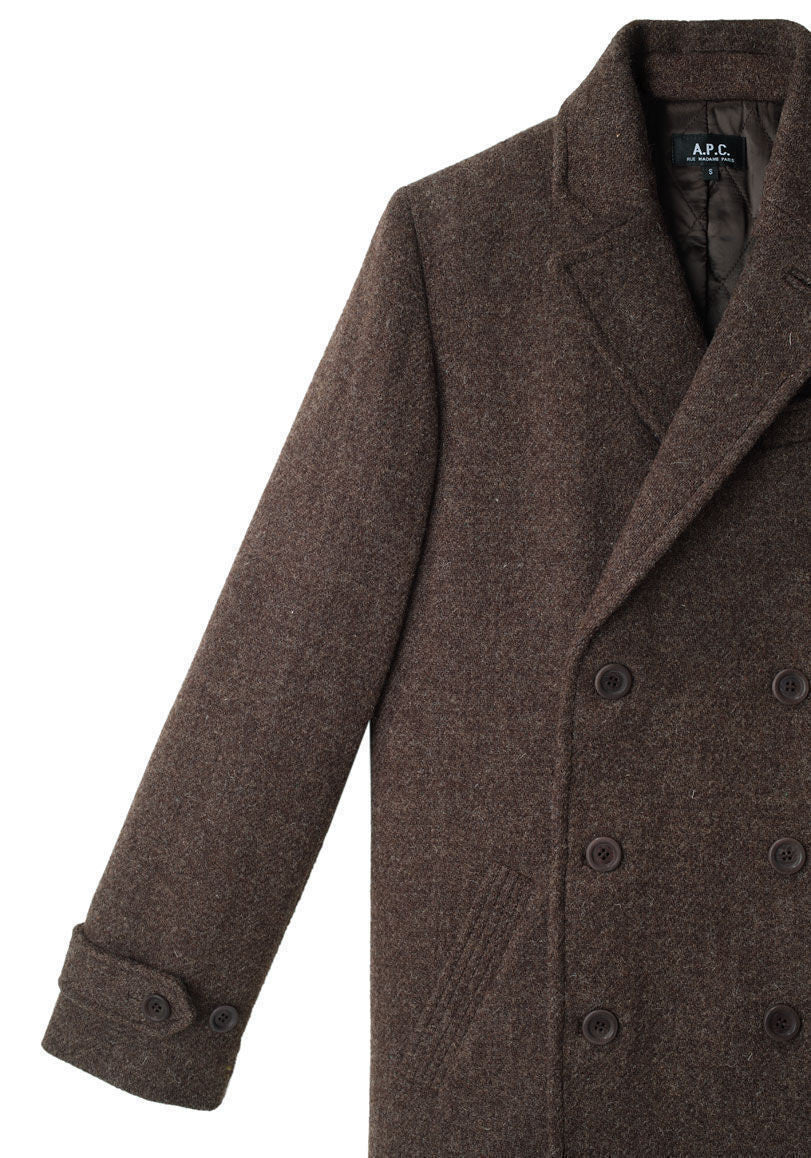 Tweed Blazer Coat