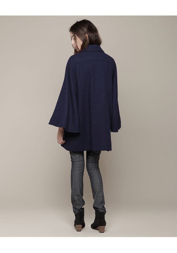 Tweed Cape Coat
