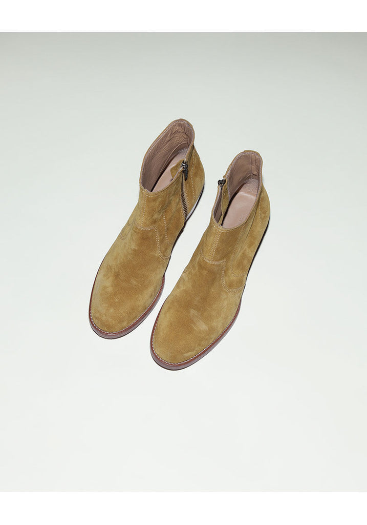 Western Suede Boot