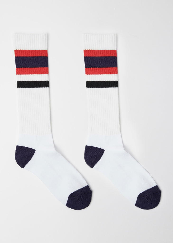 Multi-Striped Socks