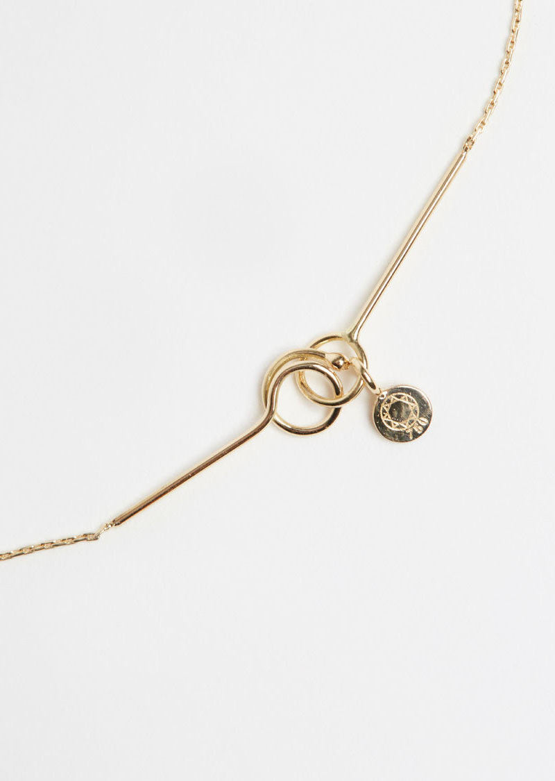 Ultrafine Necklace Thread - One Size / Gold