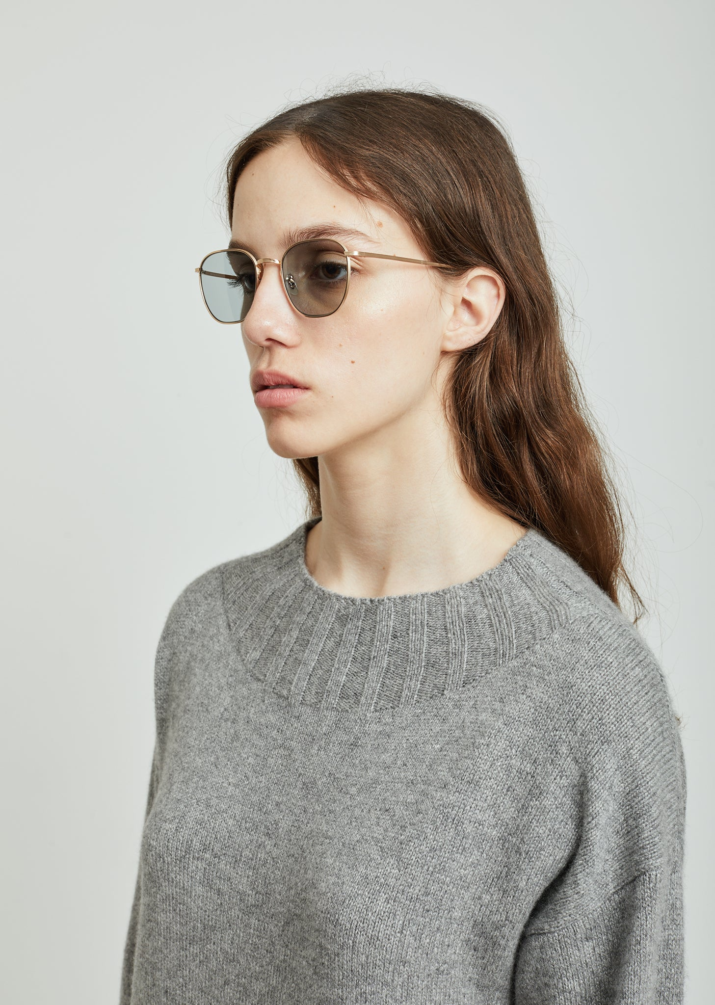 7d44e4ba727 Board Meeting 2 Sunglasses by Oliver Peoples The Row– La Garçonne