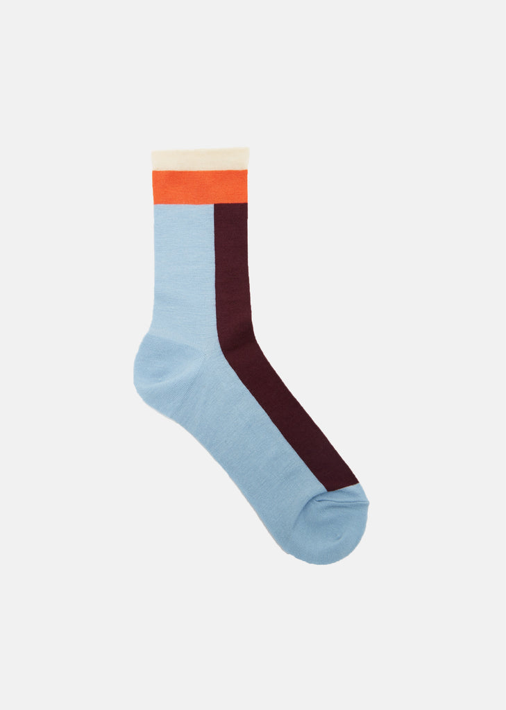 Colorblocked Socks
