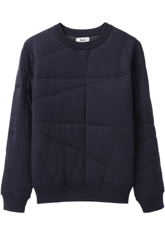 Charlotte Quilted Pullover