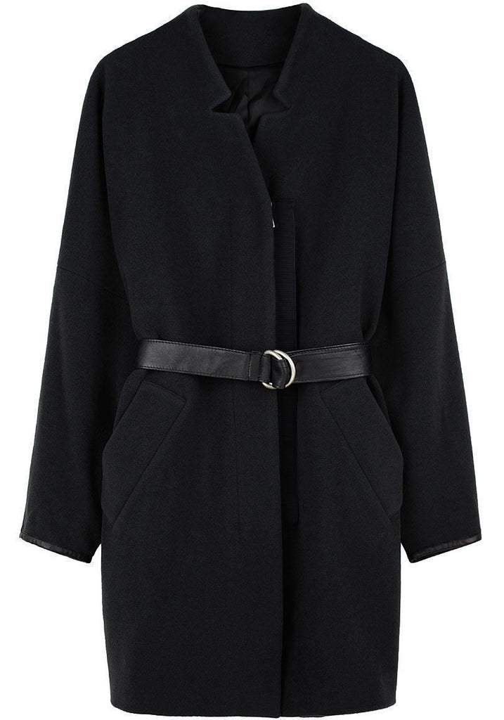 Coat w/ Self Belt