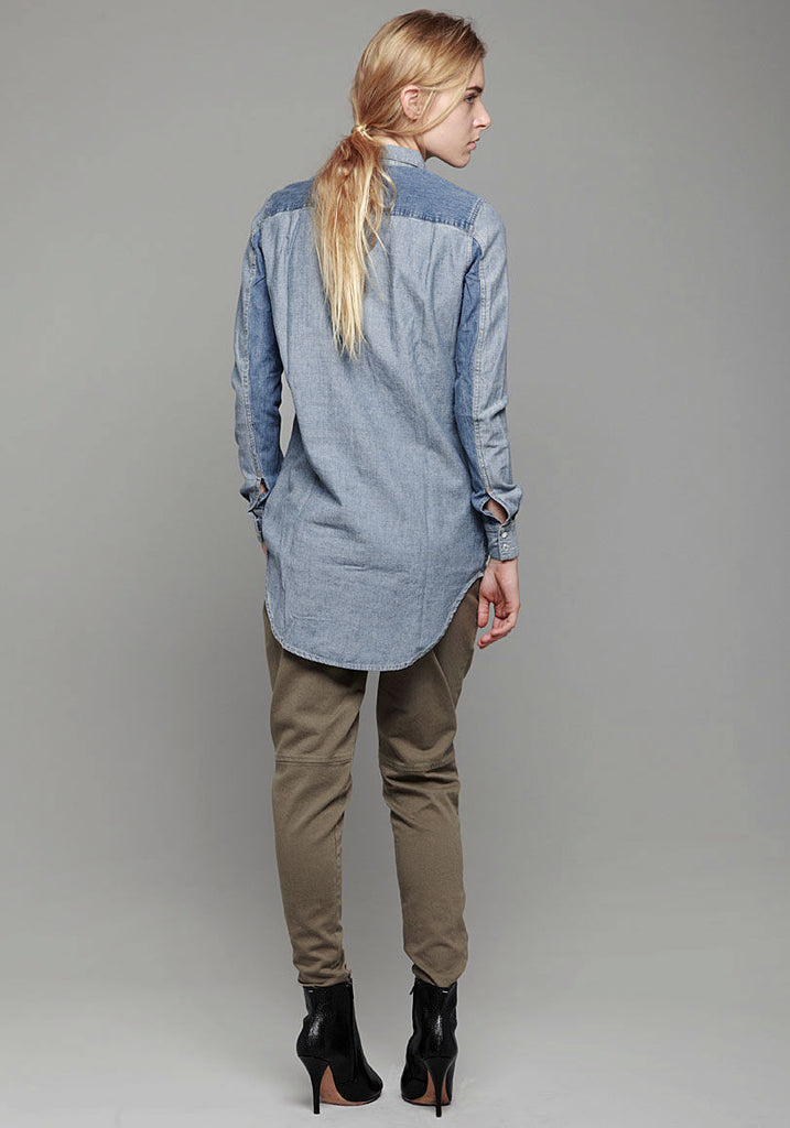 Eden Denim Tunic