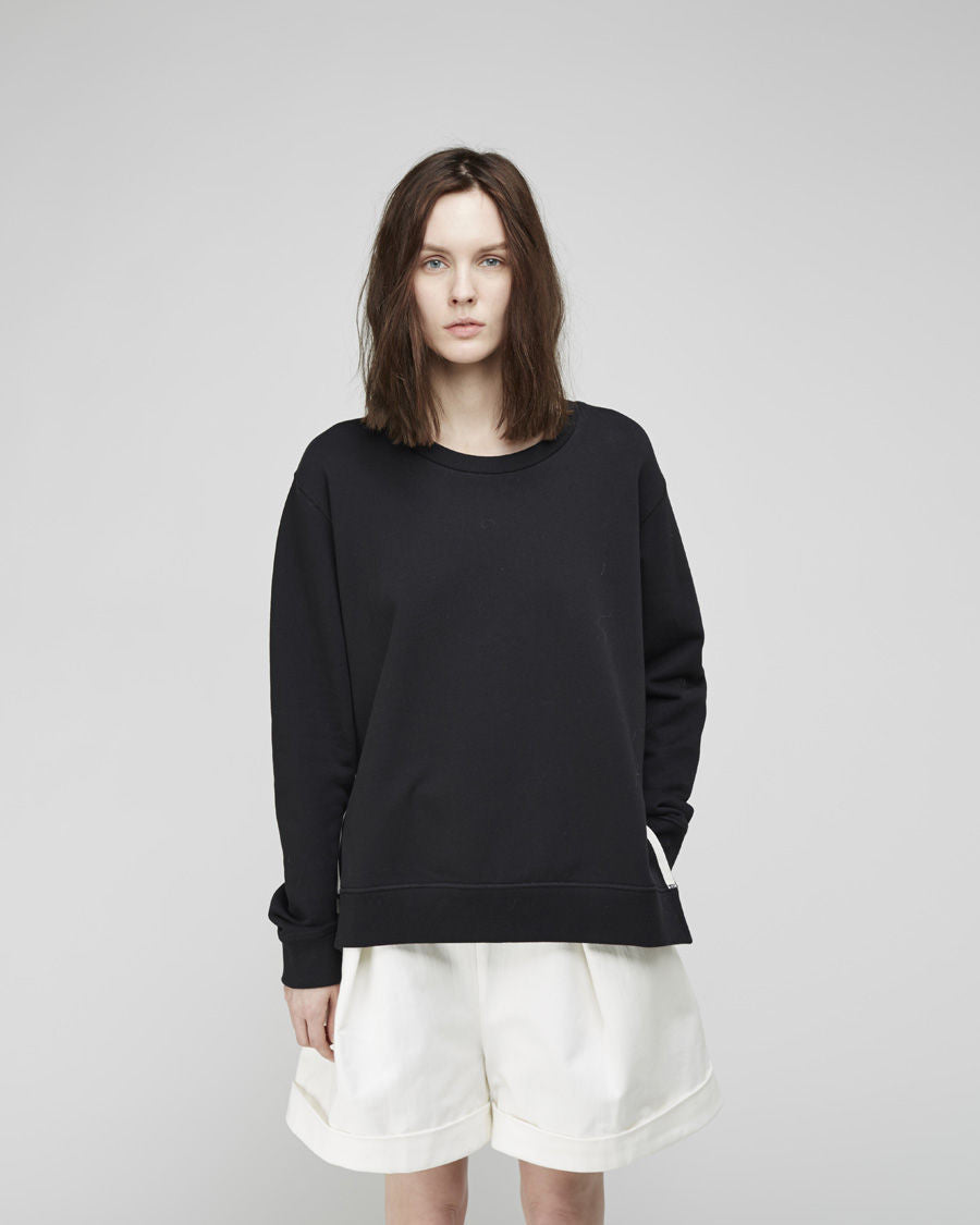 Angle Grosgrain Pullover