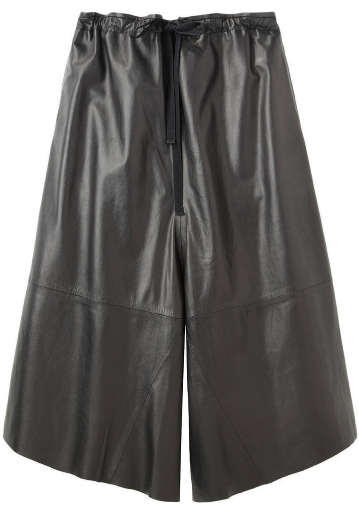 Chime Cropped Leather Pant