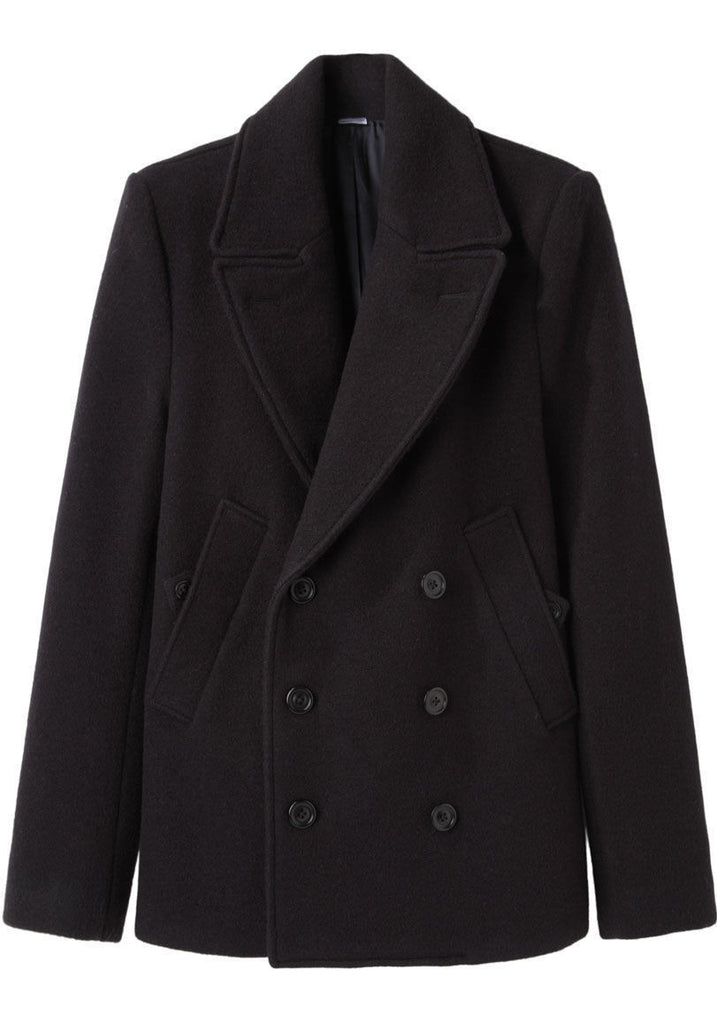 Defoe Fitted Peacoat