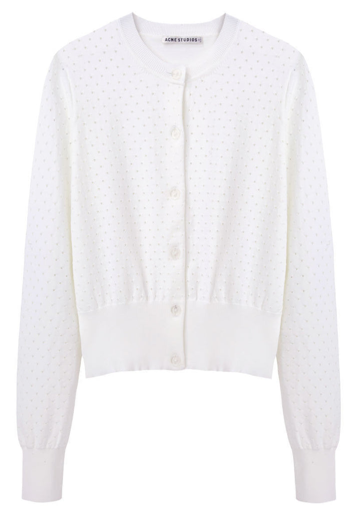 Fran Perforated Cardigan