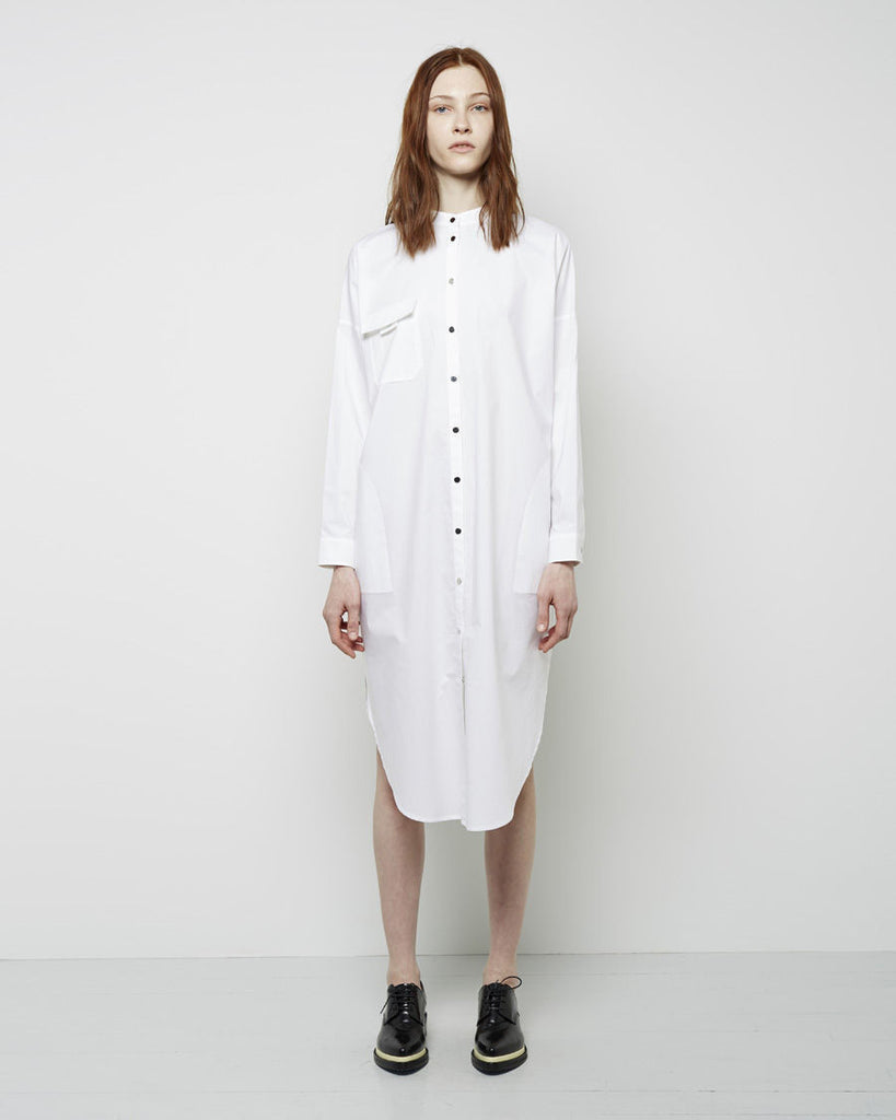 Leavy Poplin Shirtdress