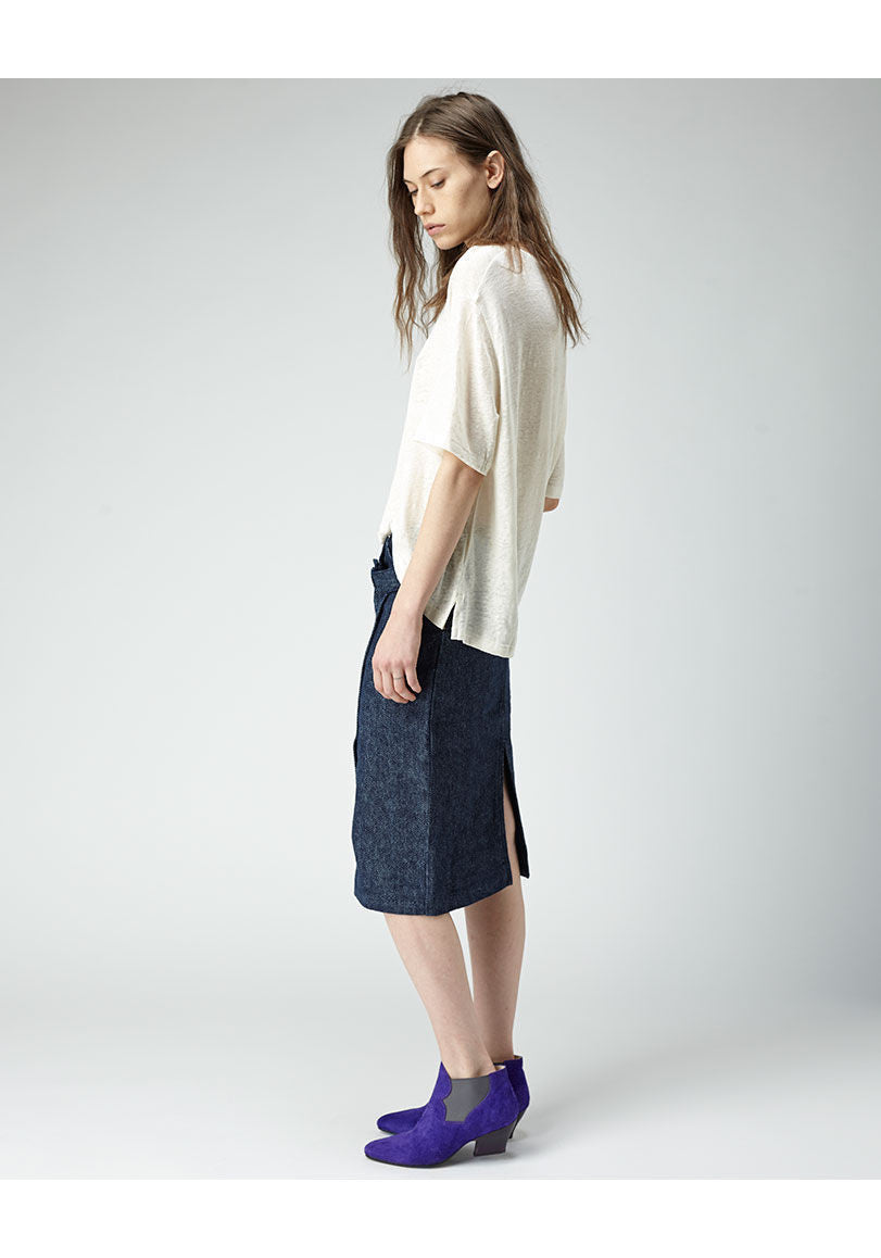 Ophelia Denim Skirt