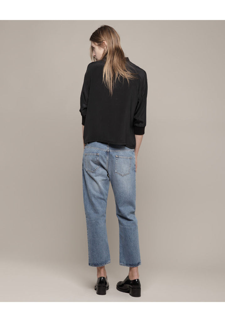 Pop Betty Cropped Boyfriend Jean