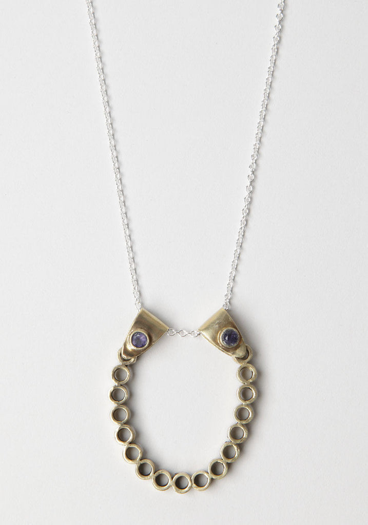 Two Points Riviere Necklace
