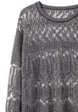 Burnout Fair Isle Sweater - RTV