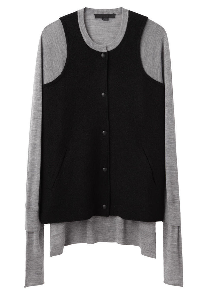 Cardigan W/ Front Pockets