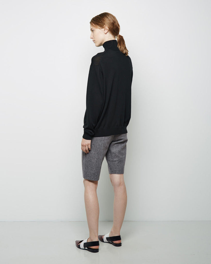 Felted Wool Trouser Short