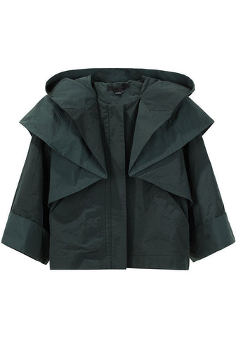 Folded Nylon Jacket
