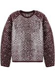 Lacquered Hand Knit Pullover