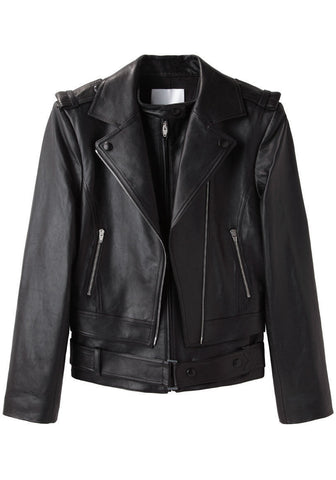 Layered Motorcycle Jacket
