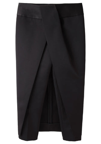 Layered Skirt Pant