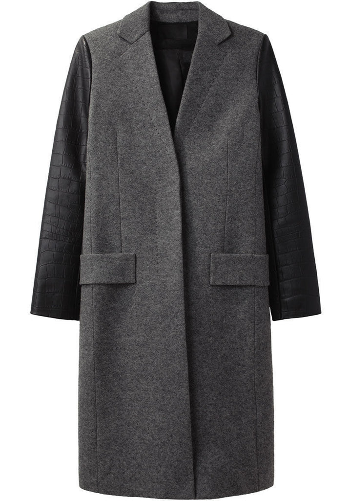 Slim Tailored Coat